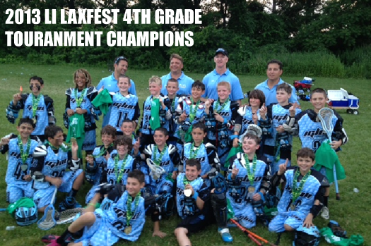 Team Igloo wins 2013 Long Island Laxfest Touranment for 4th Grade Boys Elite Travel Division