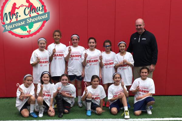 Team Igloo Girls 4th Grade Wins Mrs. Claus Shootout