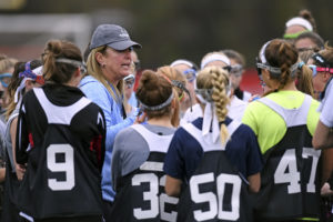 Janine Tucker Head Coach For Johns Hopkins Lacrosse at Girls LI Elite 80 Event.