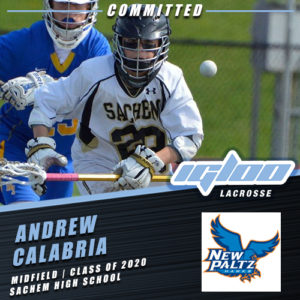 Igloo's Andrew Calabria Commits to Suny New Paltz