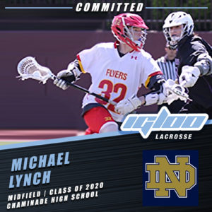 Igloo's Michael Lynch Class of 2020 Commits to Notre Dame.